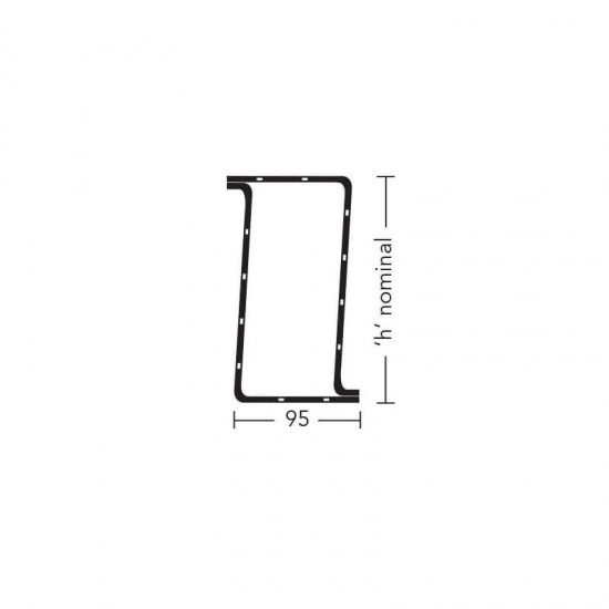 Keystone Lintel Box/K100 2400mm