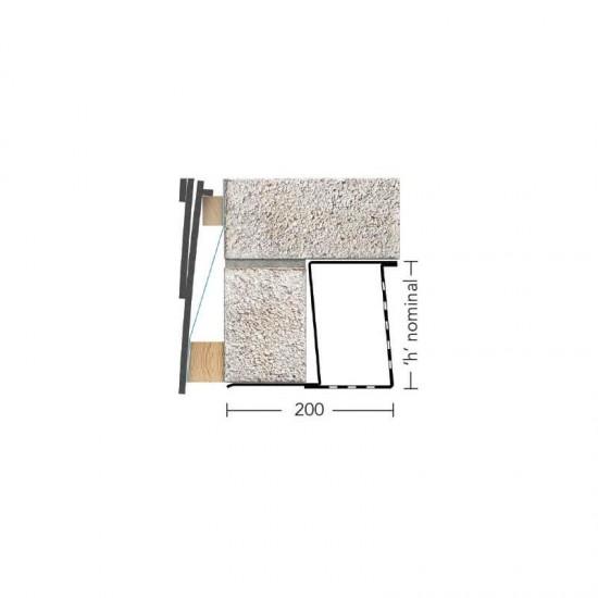 Keystone Lintel Box/K200 3600mm