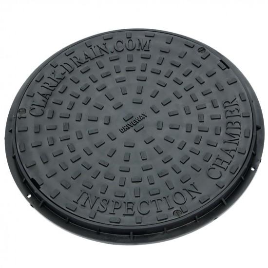 450mm Diameter Round Manhole Cover & Frame 3.5 Ton - 35kg Loading