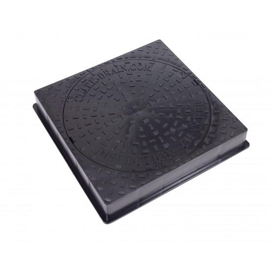 450mm Square Plastic Cover with Plastic