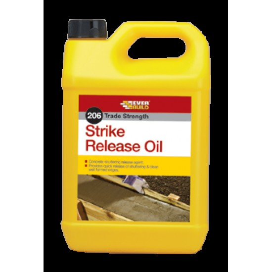 Everbuild 206 Strike Release Oil - 5L