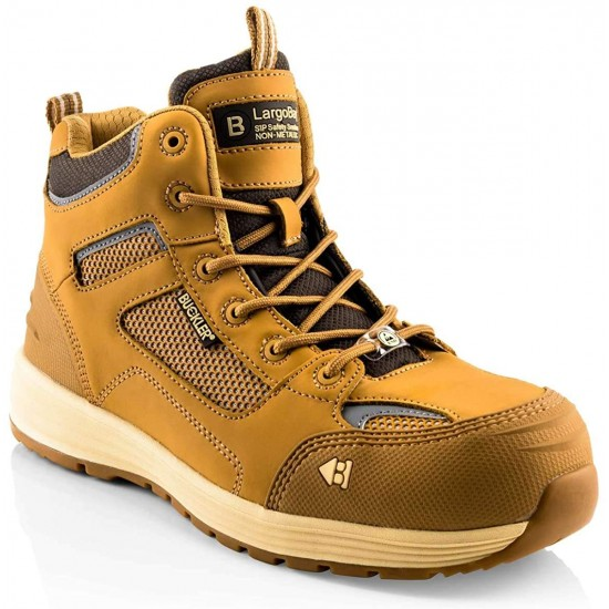 Buckler Athleisure-Style Baz Honey Safety Non-Metalic Boots Size 8