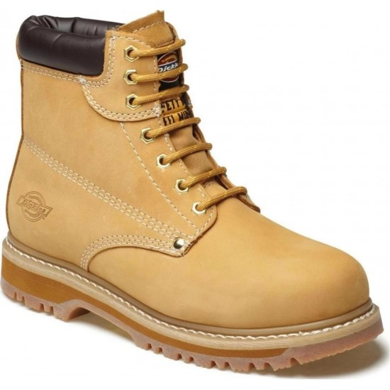 Dickies Cleveland Boot Honey Size 11 Safety Boot
