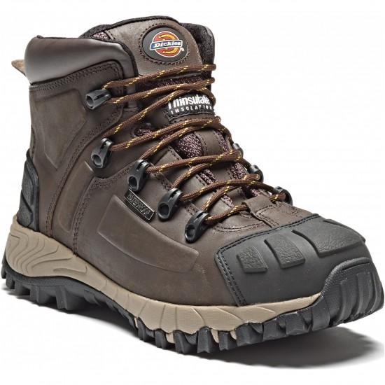 Dickies Medway Safety Boot Brown Size 10