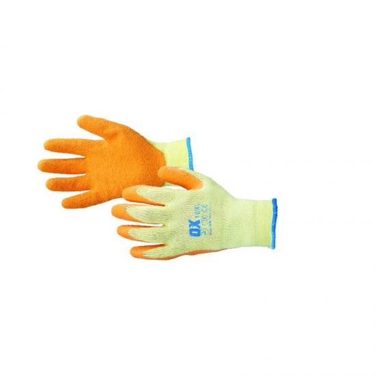 Latex coated Gloves MP1 Large Orange