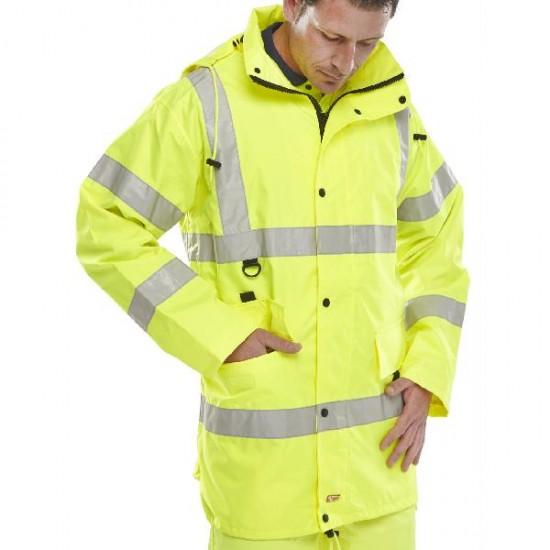 Hi Vis Yellow Jacket Large