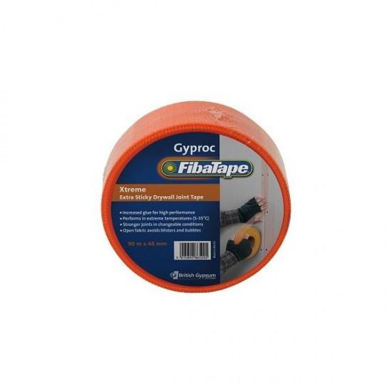 Fibatape Extreme Orange Self Adhesive Scrim 90m x 48mm
