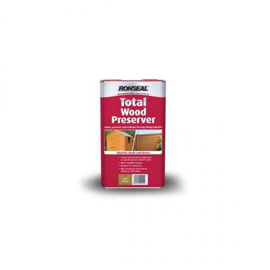 Ronseal Total Wood Preserver Green 5l