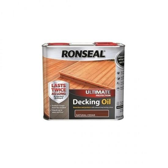 Ronseal Ultimate Decking Oil Cedar 2.5l