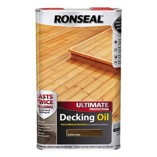 Ronseal Ultimate Decking Oil Dark Oak 5l