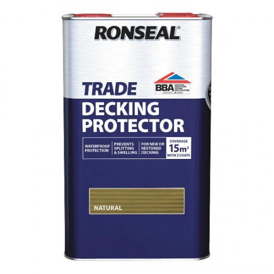 Ronseal Trade Decking Protector Natural 5l