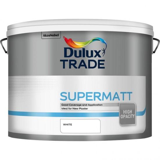 Dulux Trade 10L Super Matt - White Finish