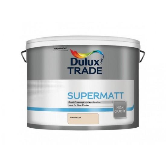 Dulux Trade 10L Super Matt - Magnolia Finish