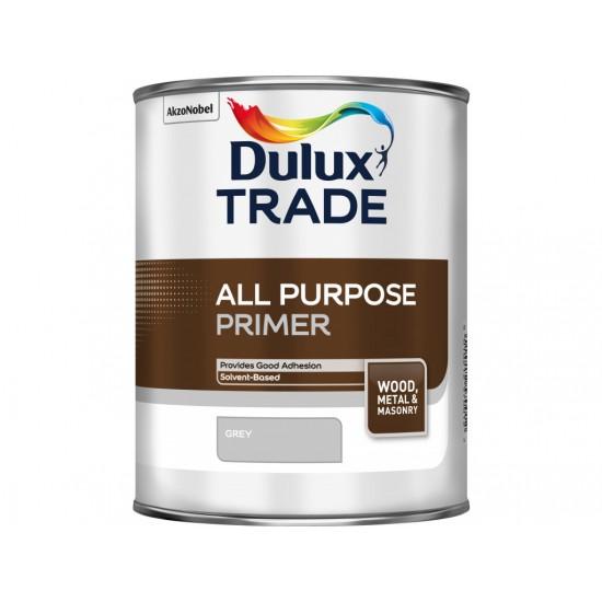 Dulux Trade 1L All Purpose Primer for Wood, Metal & Masonry - Grey