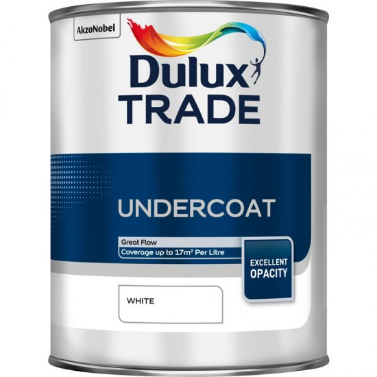 Dulux Trade 1L Undercoat - White Finish