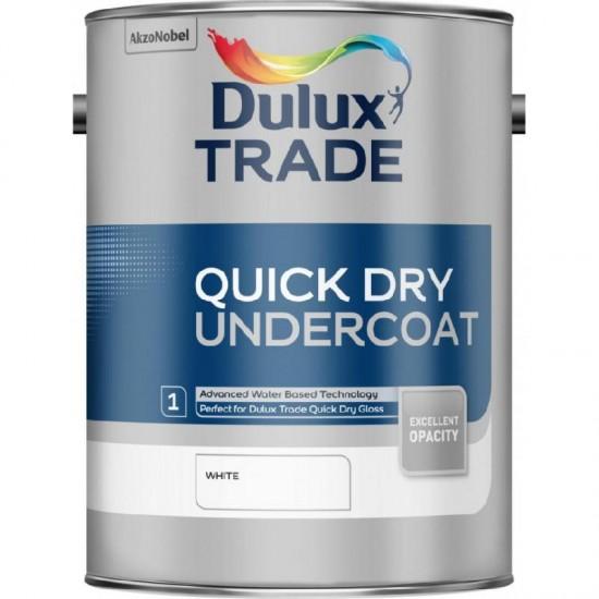 Dulux Trade 1L Quick Dry Undercoat - White Finish