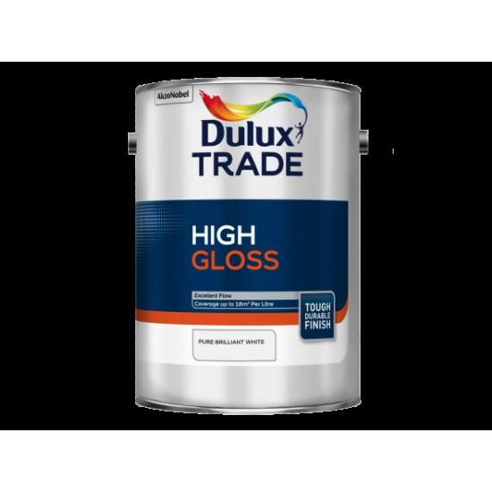 Dulux Trade 2.5L High Gloss - Pure Brilliant White Finish