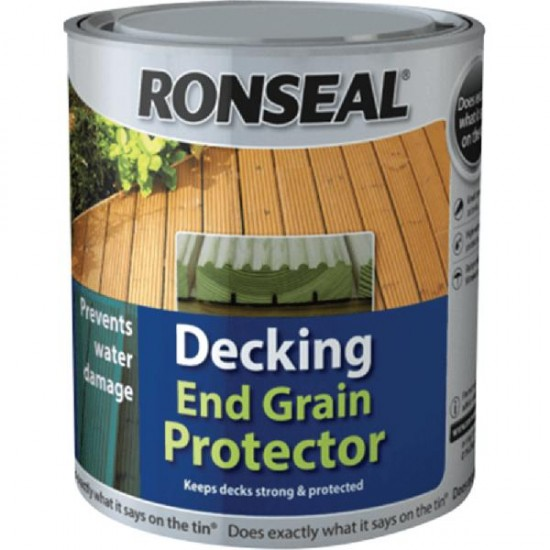 Ronseal Decking End Grain Preserver Green 750ml