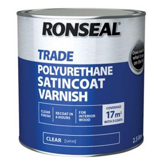 Ronseal Trade Satincoat Varnish 750ml