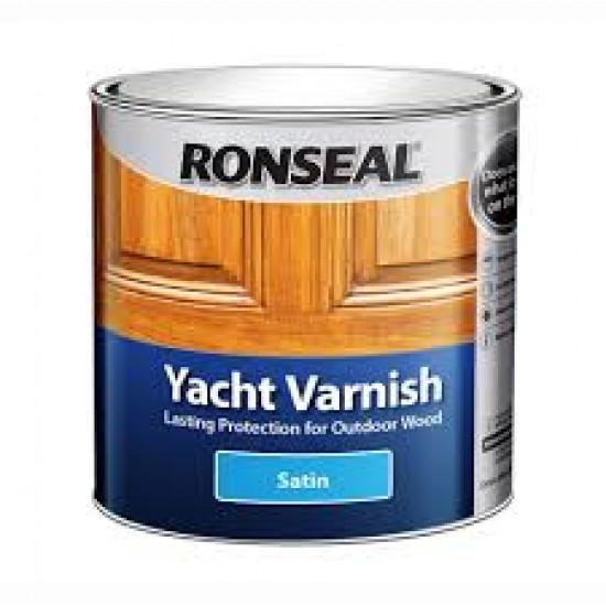 Ronseal External Yacht Varnish Satin 1L