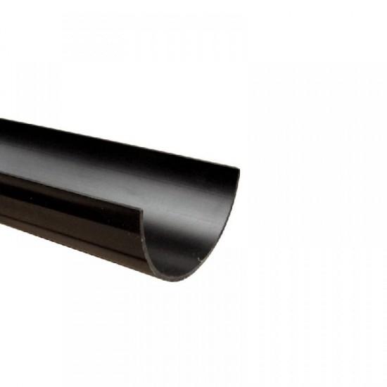112mm Half Round Gutter 2mtr Black