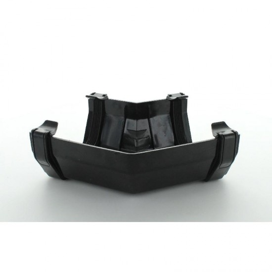 114mm Squareflo 135Deg Angle Black