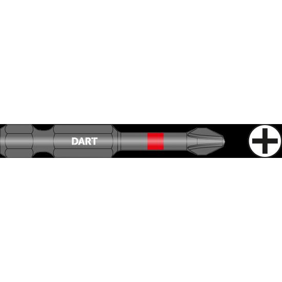DART PH2 50mm Impact Driver Bit - Pack 10