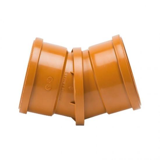 110mm Double Socket Adjustable Bend