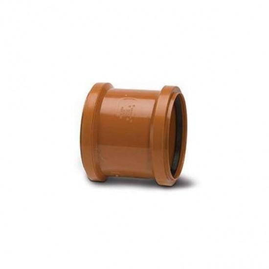 160mm Double Socket Slip Coupler