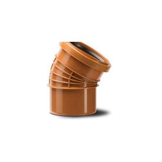Polyrib 110mm 30Degree Bend Double Socket