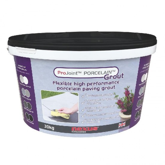 Pro Joint Porcelain Paving Grout Black