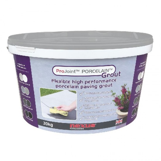 Pro Joint Porcelain Paving Grout Mid Grey