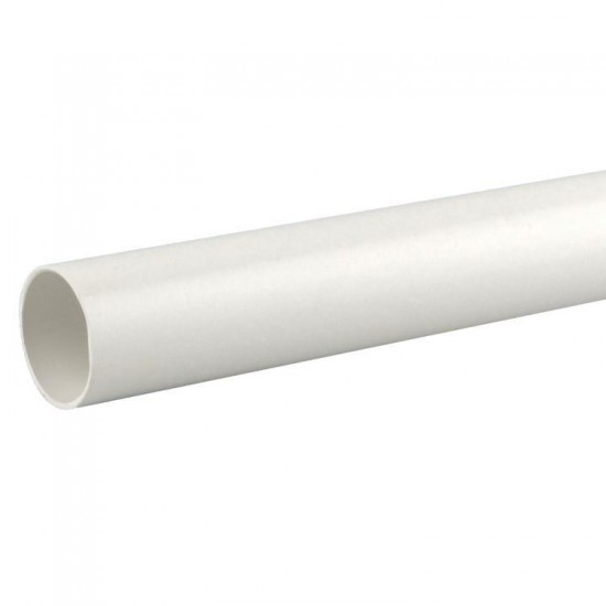 40MM X 3M P/FIT WASTE PIPE WHITE