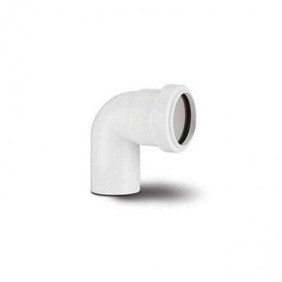 40MM 91.25DEG P/F SWIVEL BEND WHITE