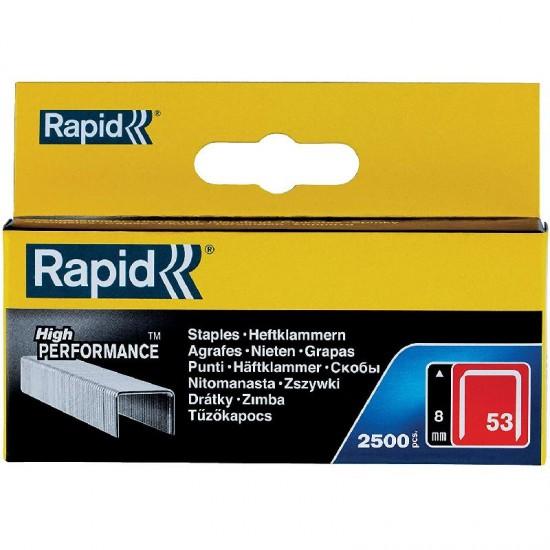 Rawlplug 8mm Rapid High Performance Staples No. 53
