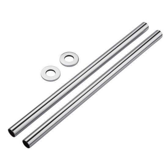 Chrome Pipe Kit 15 X 300mm