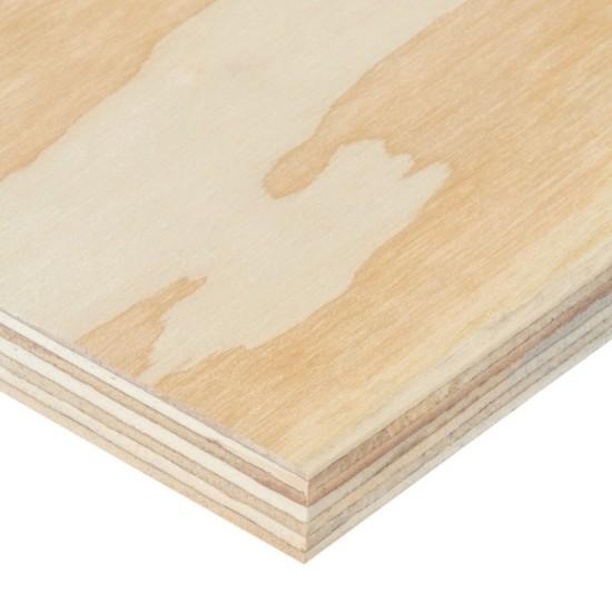 Softwood Plywood Sheet 2440 x 1220 x 18mm