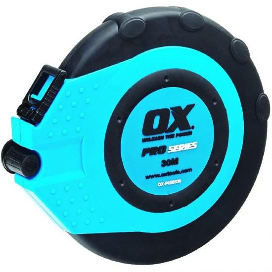 OX Pro Fibreglass Closed Reel Tape 30m