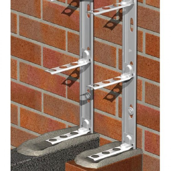 Coated Galv Wall Starter