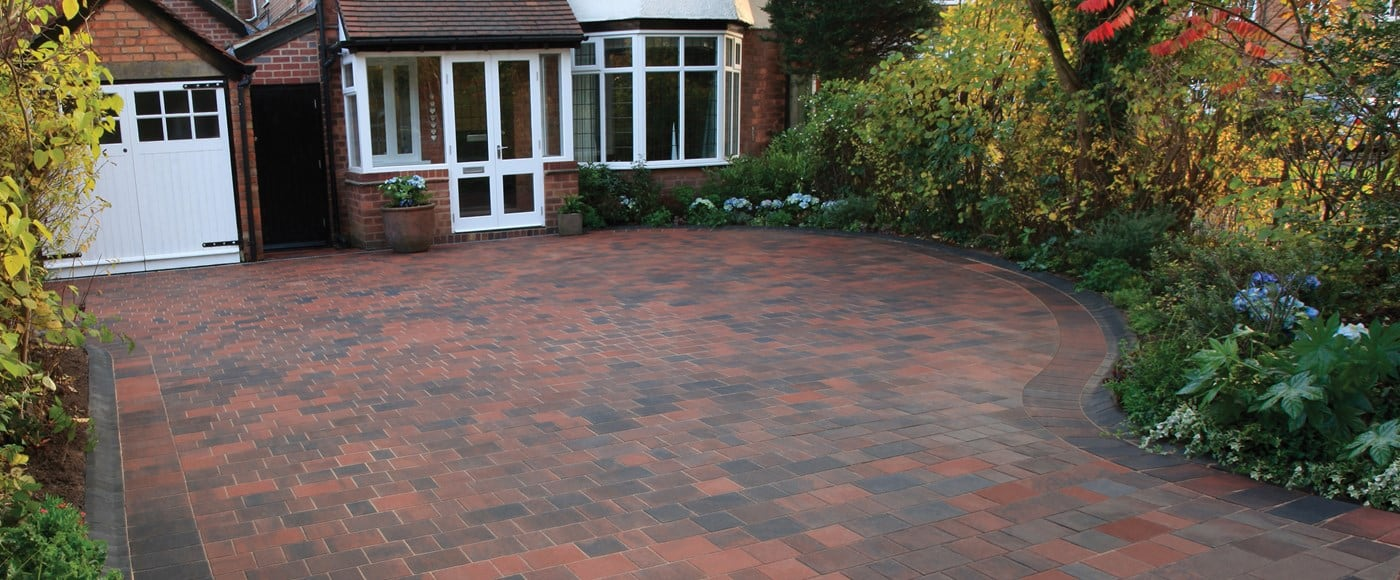 Block paving building supplies and materials