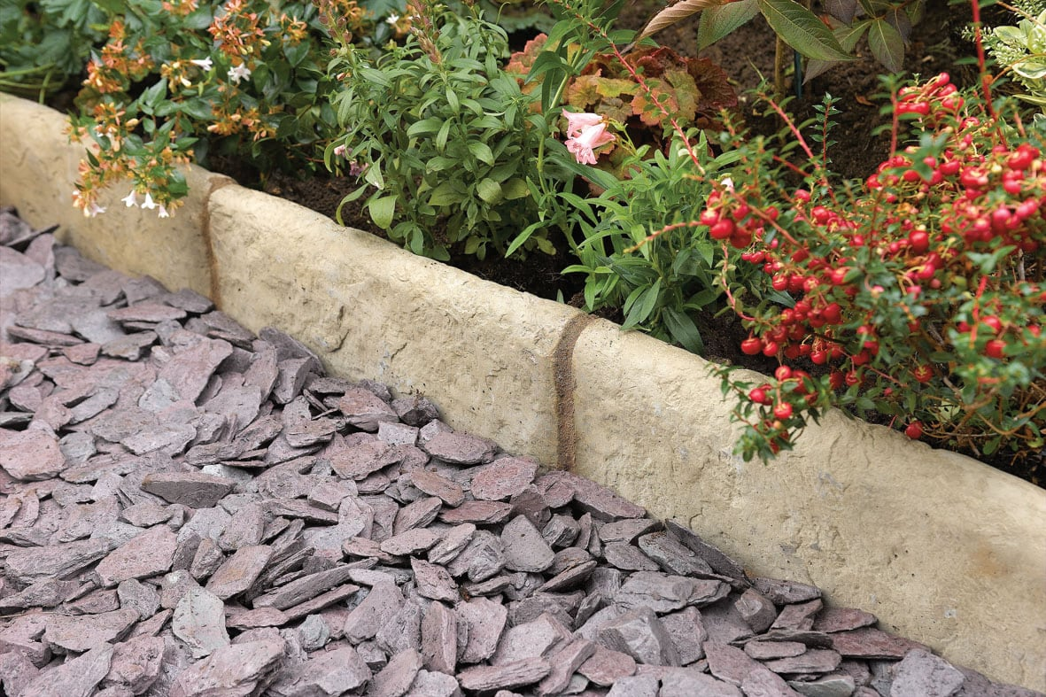 Edging & Walling building supplies and materials