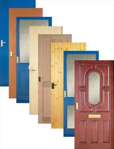 Doors building supplies and materials