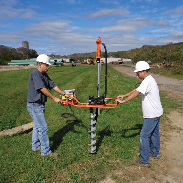 Hydraulic Post Hole Borer (Two Person)